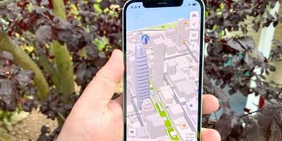 نقشههای اپل اصلاح شده اکنون در ایتالیا آزمایش میشود